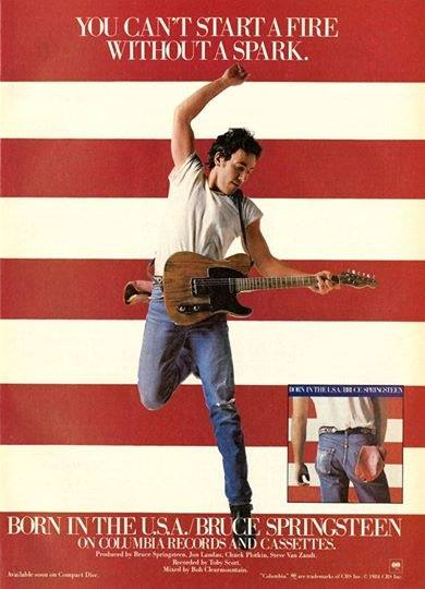 BORN IN THE USA BRUCE SPRIINGSTEEN