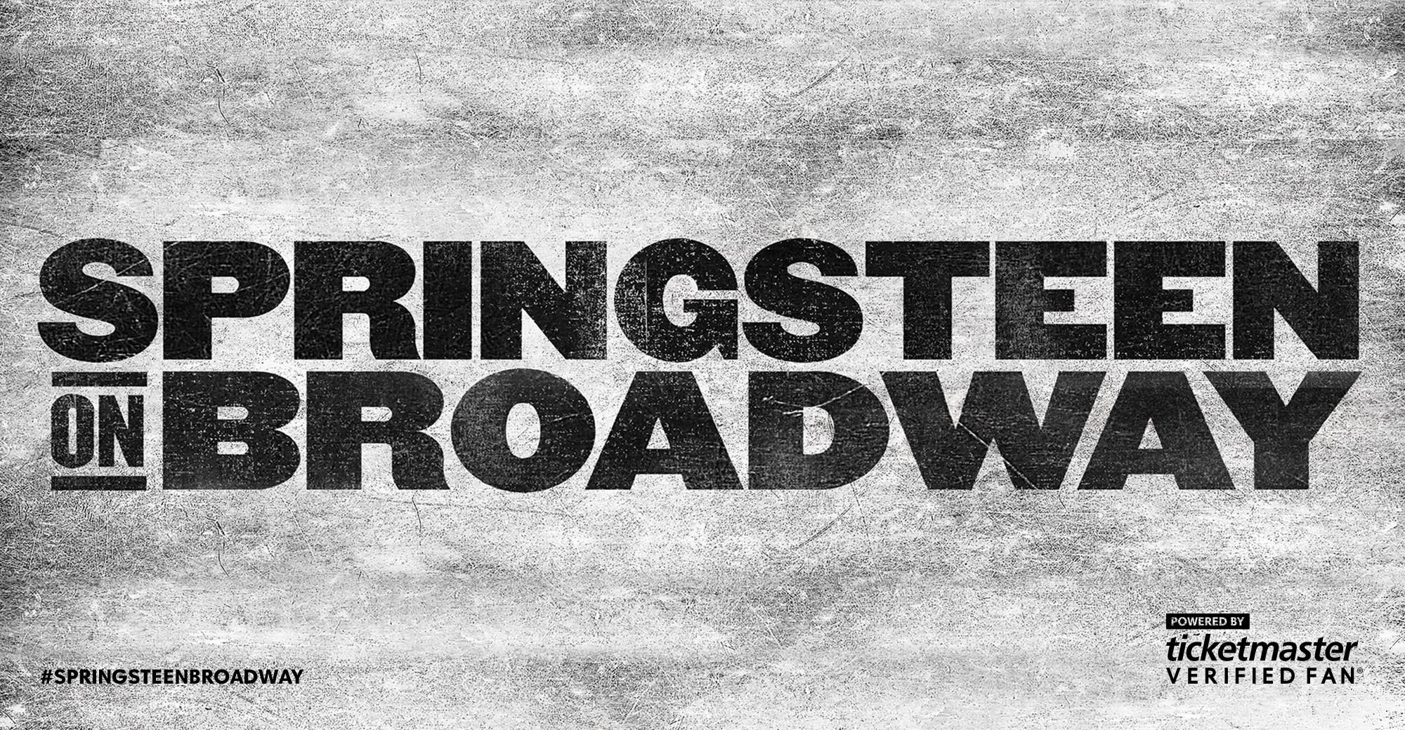 Resultado de imagen de springsteen on broadway